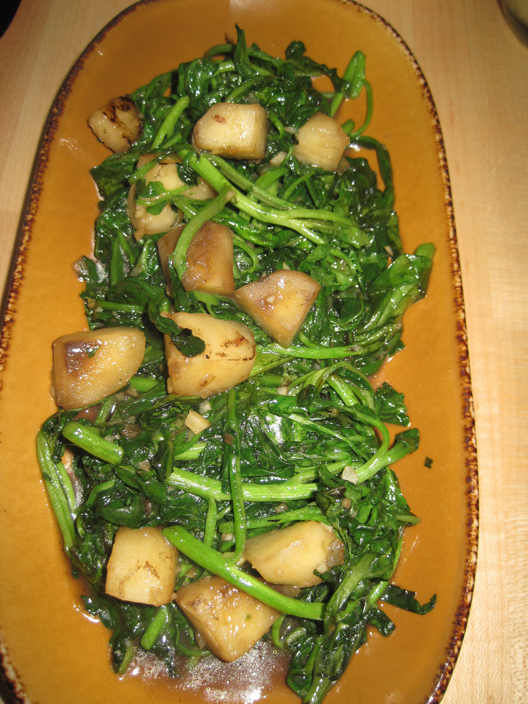 Thai Stir-Fry Spinach