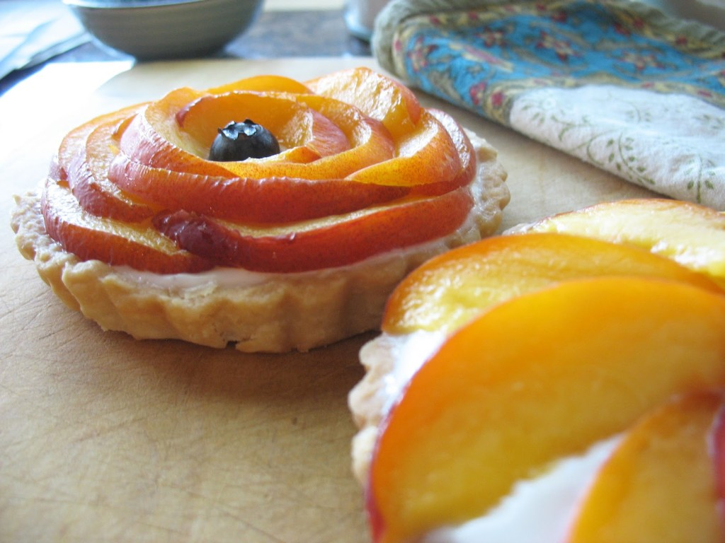 Apricot & Vanilla Tartlets